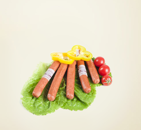 "Semi-smoked small sausages ""Egerskie"""